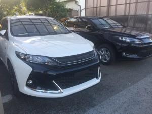 新車納車準備 トヨタ ハリアーELEGANCE G'sグレード(遠方納車/石川県)